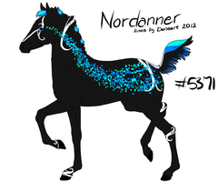 Nord Foal Design for Pumpi by xTrippingOnYoux