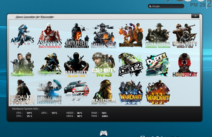 Game Launcher 1.0 by peter-86