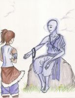 Come with me, Avatar Korra. by serennac