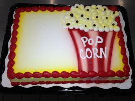 Popcorn Cake by AingelCakes