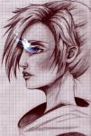 Annie Leonhardt - blue flame by Yinxabell