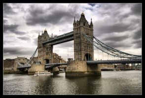 Tower Bridge London by Haywood-Photography
