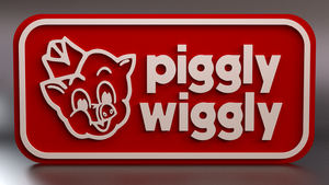 Piggy Wiggly Sign by AnthonyRalano