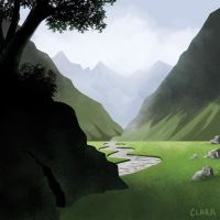Valley by claralimpk