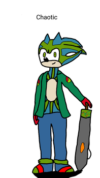 Chaotic The Hedgehog by ChaoticTheHedgehog2