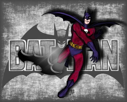 Classic Batman - Revenge Squad Outfit Variant by rubioric