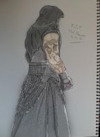 Undertaker sketch 13.3.13 - Colored V1 by itamar050