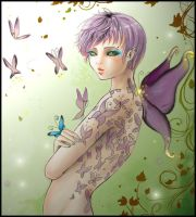 The Butterfly Collector by Shinne
