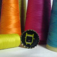 recycled monster ring by strictlyhandmade