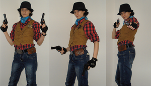 Cosplay Fallout New Vegas - Corriere 01 by Emme-Gray