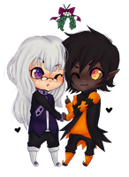 Chibi commission - Viralremix by Donnis