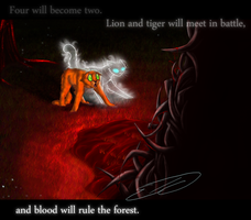 Blood Will Rule The Forest by Feline-Basilisk