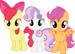 The Cutie Mark Crusaders by RatchetHuN