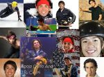 J.R. Celski and Apolo Ohno by russetwolf1