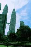 Welcome To Malaysia (KLCC Tower) by hadyzero