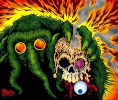 Burn By The Man-Thing's Touch by MonsterInk