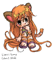 Tiger Kitty by tommychan