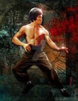 Bruce Lee by Artnaitve