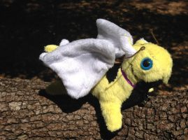 Bumble Bee Dragon Plush by omfgitsbutter