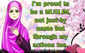 Catholic Woman Become Muslim by AynT-90