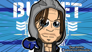 AJ Styles Bullet Club - NJPW Chibi Wallpaper by kapaeme