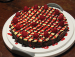 Chocolate Raspberry Rum Cheesecake by corvis9