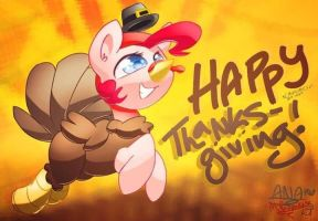 HAPPY THANKSGIVING! by TheKatWoman