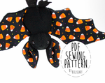 Bat Sewing Pattern Now Available by BeeZee-Art