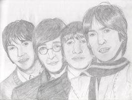 The Beatles by Dirty-Foxy