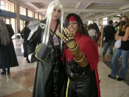 Sephiroth and Vincent by Wolf-Girl-Rin