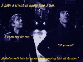 Sherlock and John_I know you for real by InlovewithSherlock