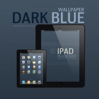 iPad DarkBlue Wallpaper by Martz90