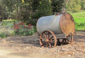 Furphy Water Cart by scentedglitter