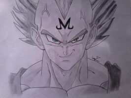 majin vegeta (finished) by shadowvid55