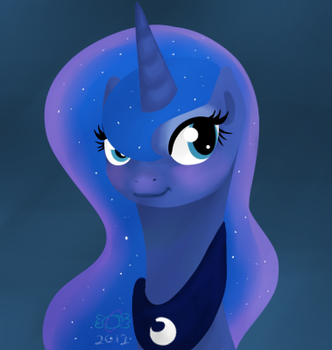 Mare of The Moon by AstronomicalCandy