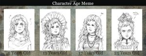 Age Meme: Claudia (Interview with the Vampire) by WittA