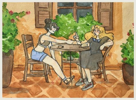 Coffee Date by ambue