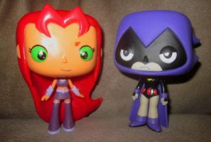 better Funko Pop Teen Titans by TeenTitans4Evr