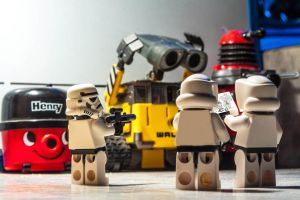 These are not the Droids we are looking for... by allenjennison