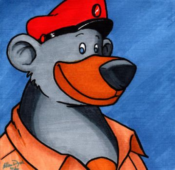 Baloo from Tale Spin by EllieVyle