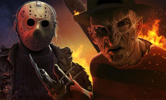 Freddy und Jason by TovMauzer