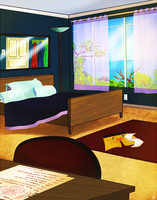 AoH- Dorm Room by RielCakes