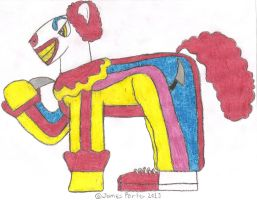 TCITW Clown, Ponified. by Rock-Raider