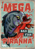 Syfy MM Mega Piranha by Randoman92