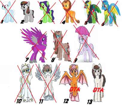 MLP/Pony Adopts! Cheap/DTA/FREE! [CLOSED] by ILAMD