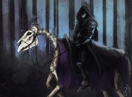 Pale Rider (Daily spitpaint no 5) by Snakebearer