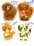 RustyXAnt kits! by StarsongDstarwatcher