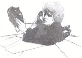 Robert Smith -THE CURE- by MariaCURE