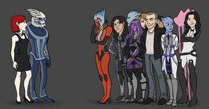 Mass Effect Romance by benevoak