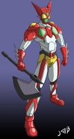 Henshin Getter Rider One by Gryphman